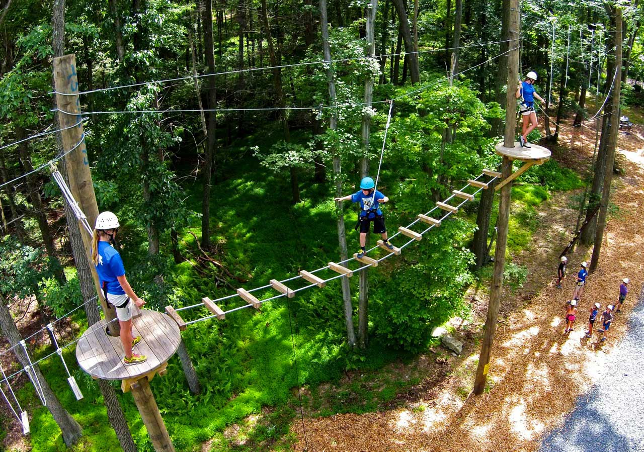 Blue Mountain Resort Zip Lines Courses Pocono Mountains