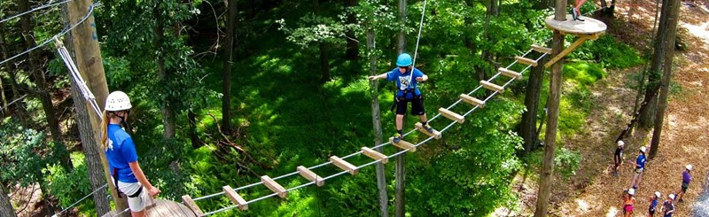High Ropes Course & Ziplines in PA