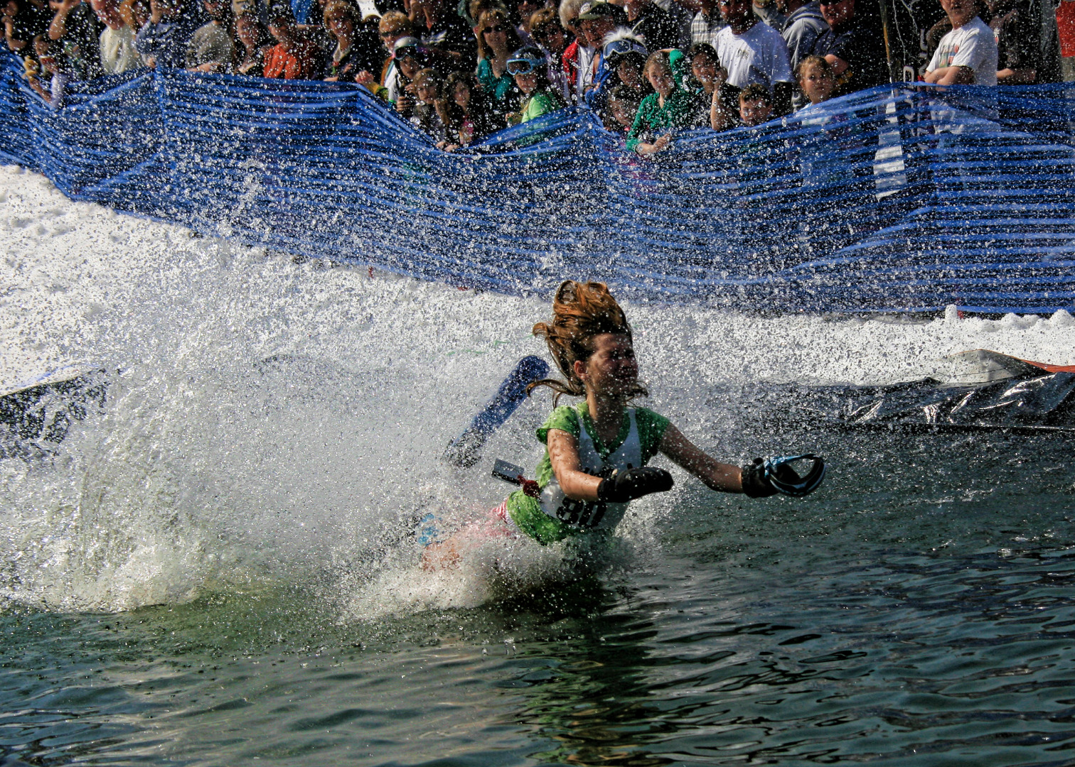 Blue Mountain Resort Pond Skim Pocono Mountains