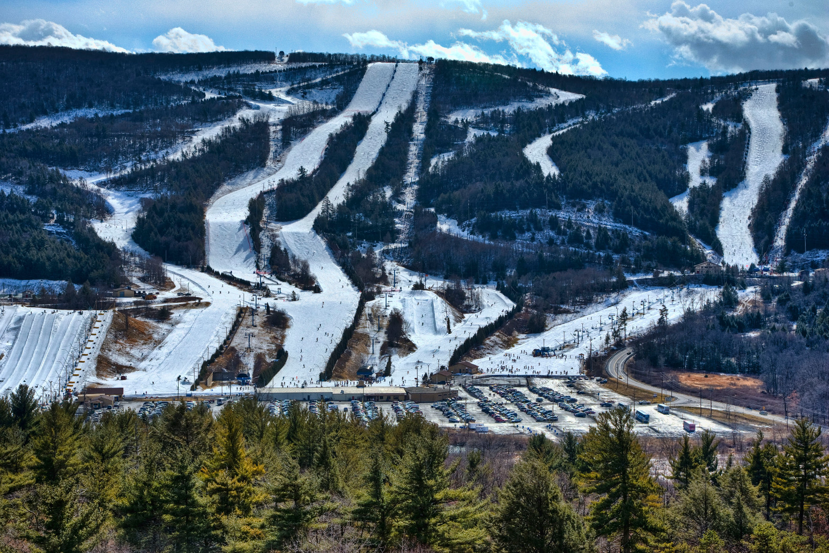 Blue Mountain Resort Winter Sports Pocono Mountains