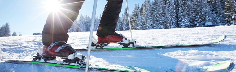 Ski and Snowboard Rental Equipment