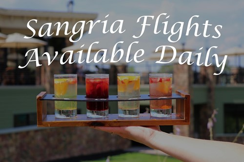 Sangria Flights Available Daily
