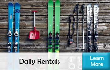 Daily Ski and Snowboard Rentals