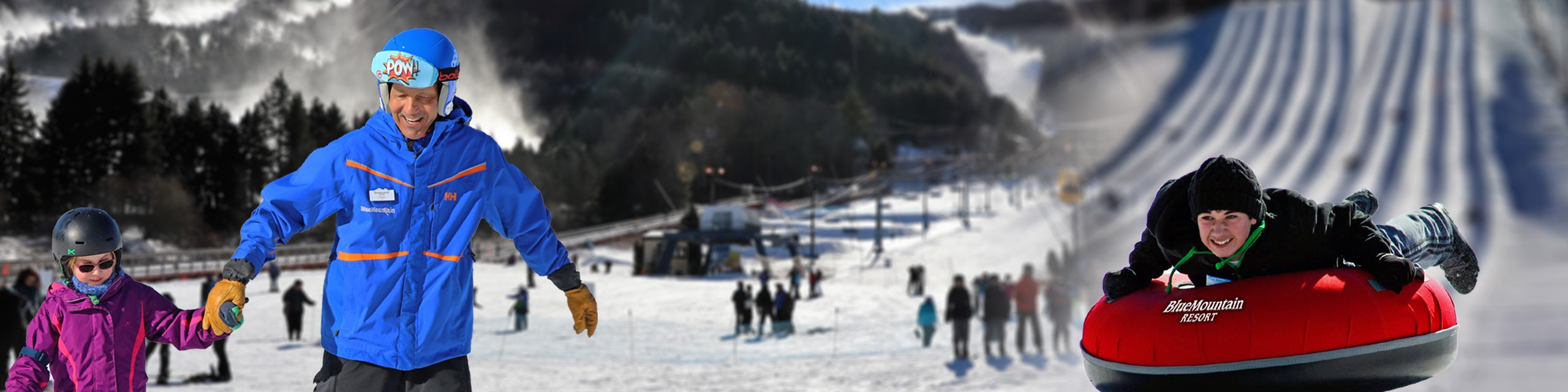 blue mountain resort | ski, snowboard, tube | pa