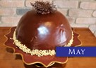 MAY – Peanut Butter & Chocolate Mousse Bombe
