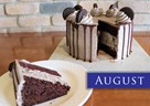 AUGUST – Oreo Lover's Chocolate Cake