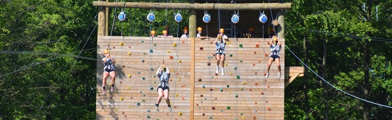 Zip Line, Rock Climb or Free-Fall!